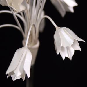Silver alium flowers